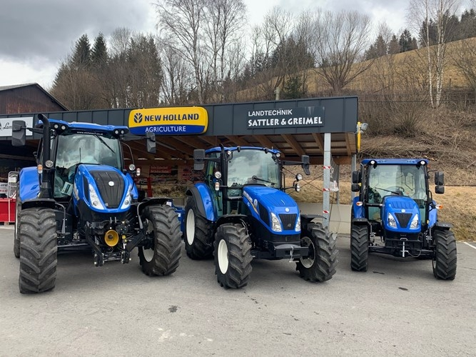 NEW HOLLAND<BR> Ab sofort NEW HOLLAND Vertretung bei uns!